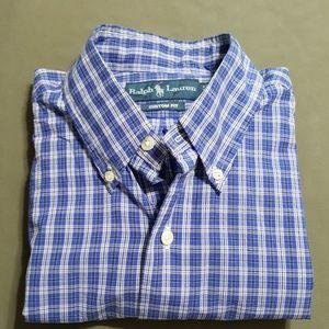 Ralph Lauren S/S button down shirt, sz M